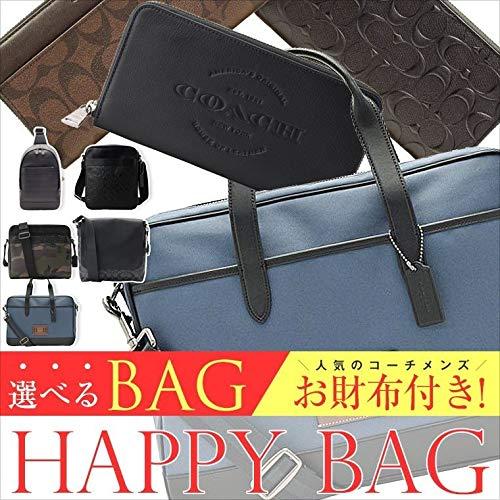 7d4a9b481071 メンズCOACH 2019バッグ 福袋 選べるバッグ+お財布の2点セット!おしゃれで