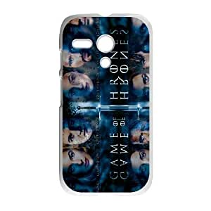 Motorola Moto G Phone Case White Game of Thrones ZKH9382316
