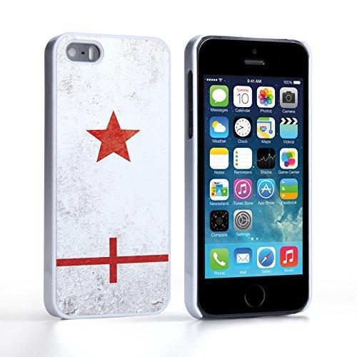 Caseflex Coque iPhone 5 / 5S Angleterre Rétro Coupe du Monde Dur Housse