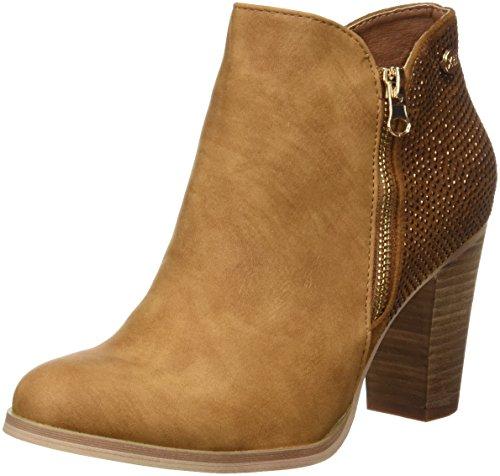 Camel Hueso Botines 046567 XTI para Mujer 0aSXf