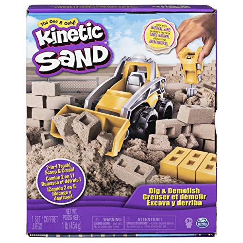 Kinetic Sand Dig Demolish