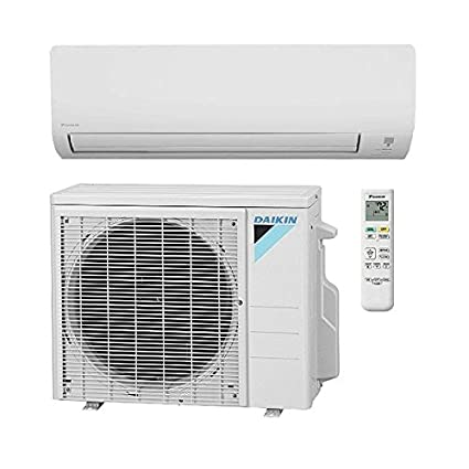 18,000 Btu 15 Seer Daikin Single Zone Ductless Mini Split Heat Pump System