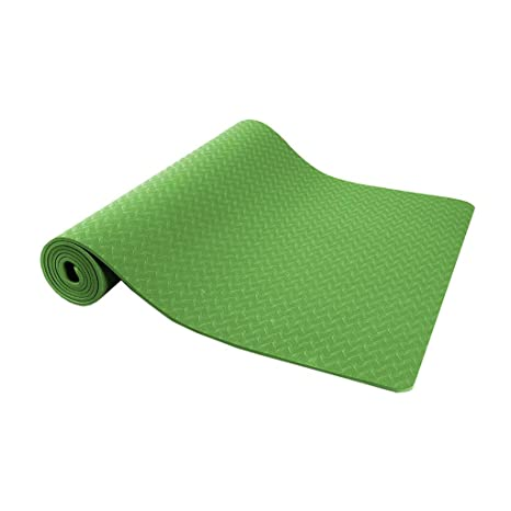 Amazon.com : Yoga Mat Anti-Skid High Elasticity Eco-Friendly ...