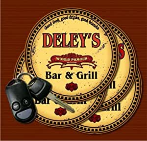 Amazon.com : DELEY'S World Famous Bar & Grill Coasters - Set of 4