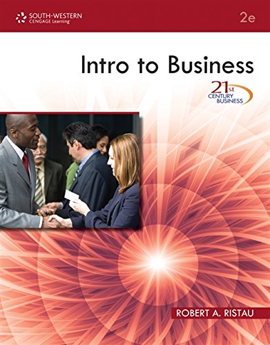 21st Century Business: Intro to Business (FBLA - All)