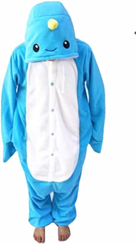 wotogold® Animal Cosplay disfraz narval Onesies Unisex adulto ...