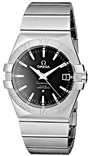 Omega Men's 123.10.35.20.01.001 Constellation Chronometer Black Dial -