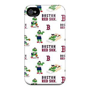 TubandaGeoreb Cases Covers Protector Specially Made For Iphone 6 Boston Red Sox