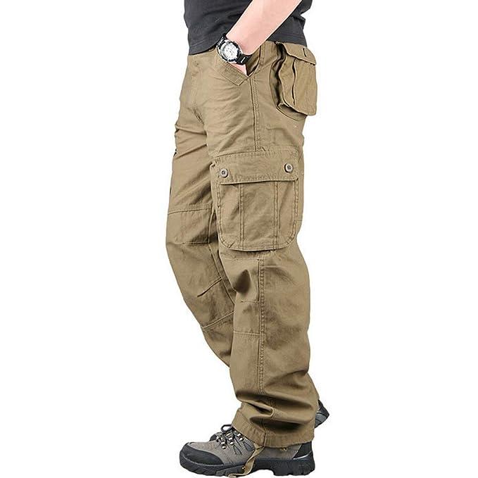 Amazon.com: Zbkdds - Pantalones de carga para hombre ...