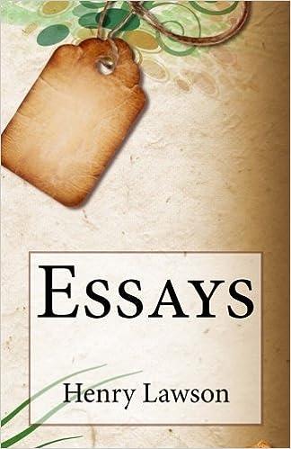 Essays: Henry Lawson: 9781502349750: Amazon.com: Books