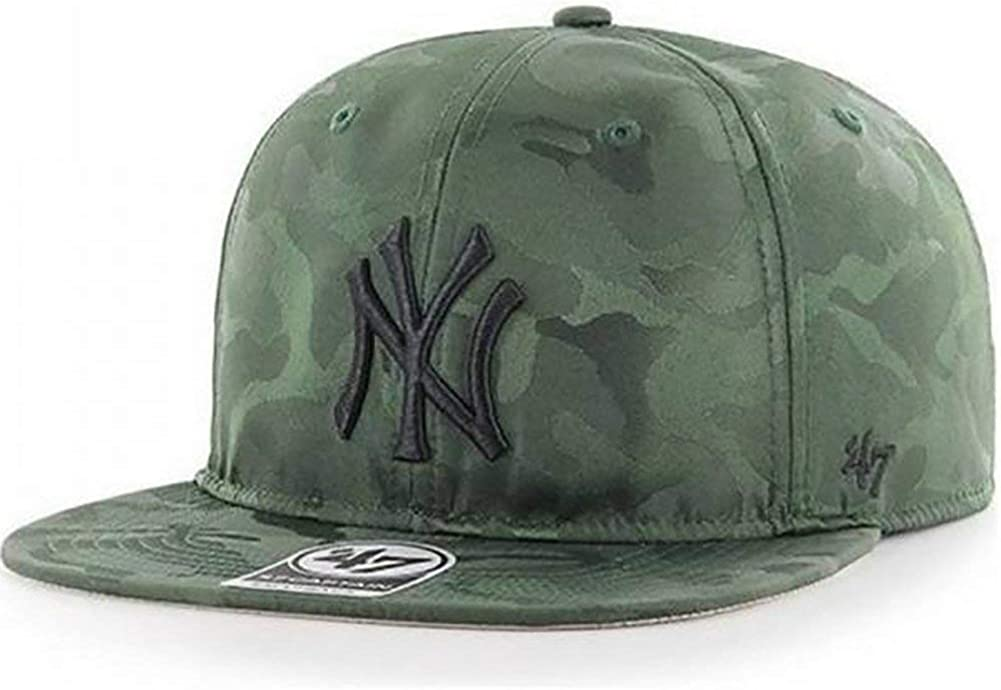 47 Gorra Brand MLB New York Yankees Captain Snapback Verde OSFA ...