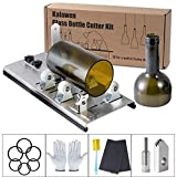 Kalawen Glass Bottle Cutter Bottle Cutter Latest Version DIY Machine for Cutting Wine