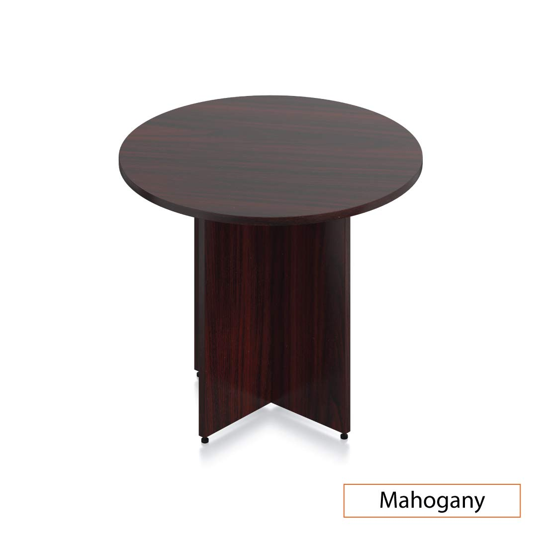 GOF 36'' Round Table (36W x 36D x 29.5H), Cherry, Espresso, Mahogany, Walnut (Mahogany) by GOF