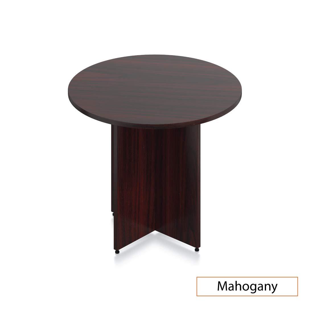 GOF 36'' Round Table (36W x 36D x 29.5H), Cherry, Espresso, Mahogany, Walnut (Mahogany) by GOF (Image #1)