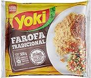 Farofa Mandioca Temperada Yoki 500g