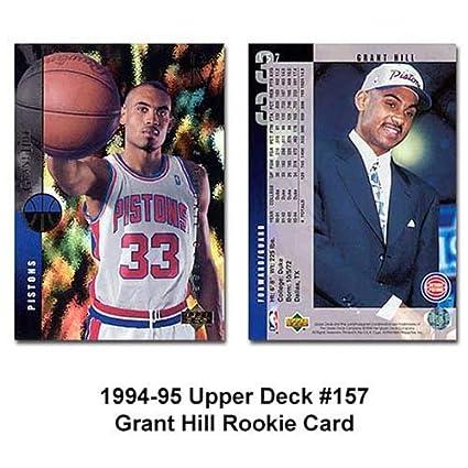 Amazoncom Upper Deck Detroit Pistons Grant Hill 1994 95
