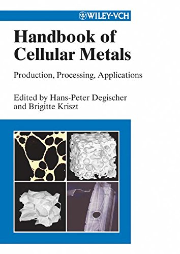 Download Handbook of Cellular Metals: Production, Processing, Applications ebook