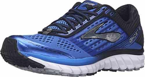 Brooks Men's Ghost 9 Electric Brooks Blue/Black/Silver Sneaker 12.5 D (M)