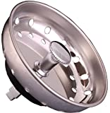 Replacement Fixed Post Sink Strainer Basket, Stainless Steel, Fit All