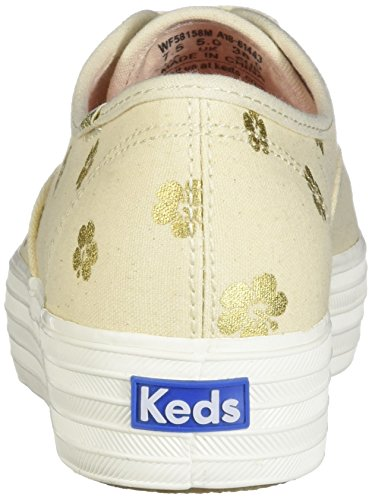 Natural Sneaker Keds Donna Gold Bianco ztZdZB