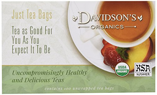 Davidson's Tea Rosehips, 100-Count Tea Bags (Rose Hips Tea Bags)