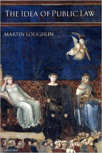 Book The Idea of Public Law