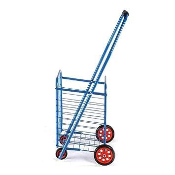 CSSTCL Carrito De La Compra, Carrito De La Compra, Supermercado Plegables Coche De Escalada