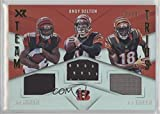 #3: A.J. Green; Andy Dalton; Joe Mixon #23/25 (Football Card) 2017 Panini XR - Team Trios Materials #TT-CIN