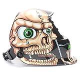 AUDEW Solar Auto Darkening Welding Helmet Arc Tig Mig Mask Grinding Welder Mask Skull