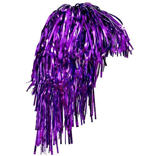 (Shindigz Adult Size Metallic Purple Foil Tinsel Wig (1))