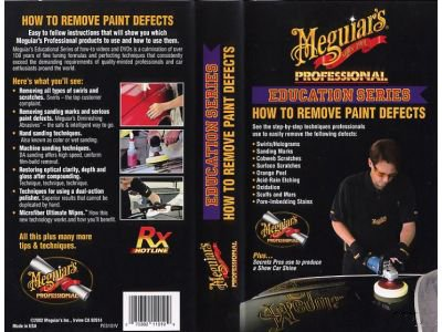 Meguiar's How to Remove Paint Defects Video