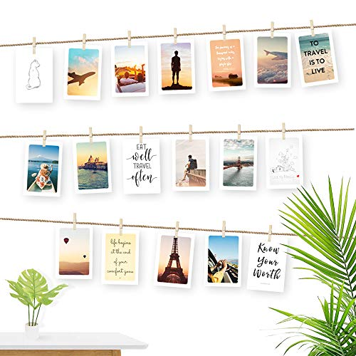 Photo Display String And Pegs Diy Picture Frames Collage Includes