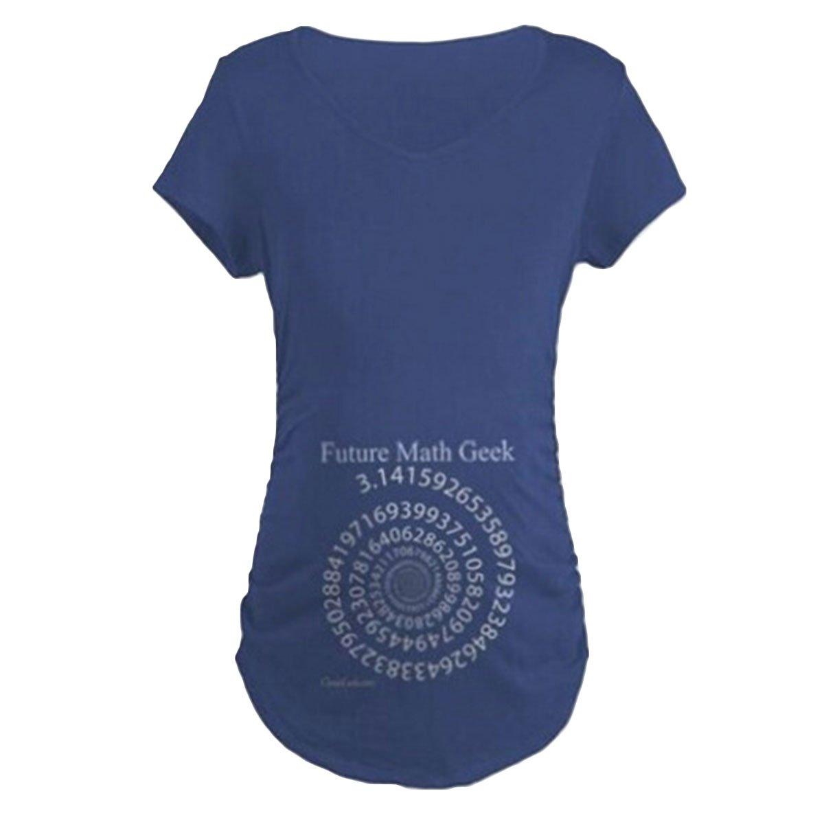 Yogurt Plus Size PI Funny Maternity T-Shirt Pregnancy Top Graphic Tees