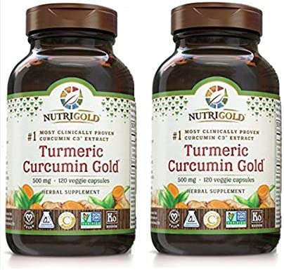 Nutrigold Turmeric Curcumin milligrams Capsules product image