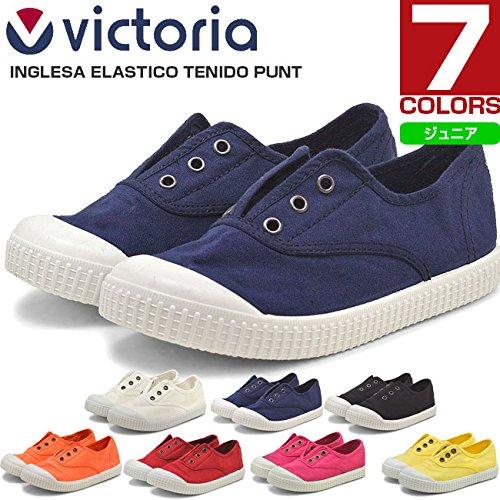 自分自身適格維持◎ヴィクトリア(victoria)キャンバスシューズ INGLES ELASTICO TENIDO PUNTO 06627 ビクトリア 【キッズ/ジュニア】