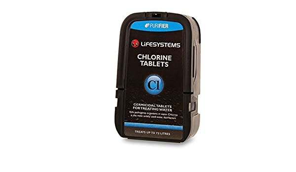 Lifesystems Color 0 Chlorine Tablets 72 Tablets