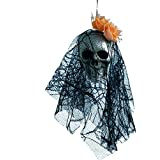 Hot Sale,Halloween Hanging Decor KIKOY Pirates Corpse Skull Haunted House Bar Home Garden Decor