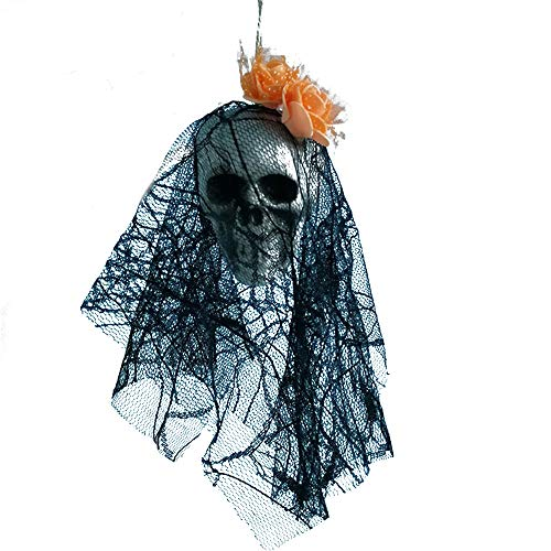 certainPL Halloween Hanging Skull Decorations Indoor/Outdoor, Pirates Corpse Decals Home Party Decoration (G) -