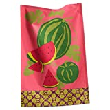 Tag 203654 Jardin Watermelon Dishtowel, 18 by 26-Inch, Pink