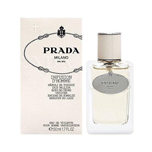 Prada Infusion D'homme by Prada for Men. Eau De Toilette Spray - Discounted Prada