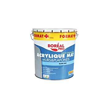 Peinture Acrylique Mur Et Plafond   20+4 Kg