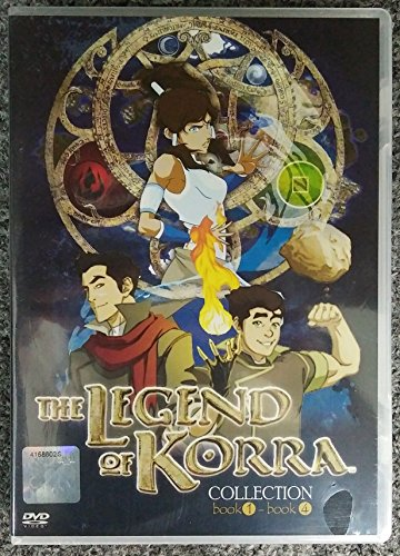 AVATAR - THE LEGEND OF KORRA (COMPLETE BOOK 1-4) ( ENGLISH AUDIO) - COMPLETE SERIES DVD BOX