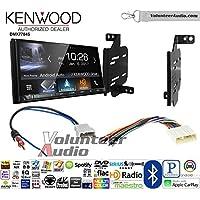 Volunteer Audio Kenwood DMX7704S Double Din Radio Install Kit with Apple CarPlay Android Auto Bluetooth Fits 2011-2014 Nissan Juke