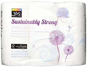 365 Everyday Value Sustainably Strong Paper Towels, 3 Rolls
