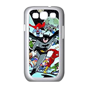 Sexyass Justice League Samsung Galaxy S3 Cases Justice League Artwork., [White]