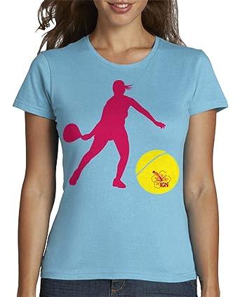 latostadora - Camiseta Manga Corta Chica - Padel para Mujer: ingridgraun: Amazon.es: Ropa y accesorios