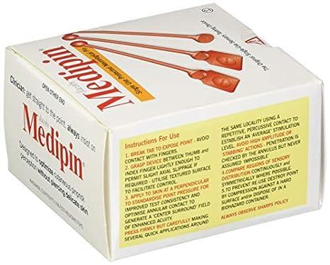 Single-Use Precision Instrument Medipin Disposable Medipins 100 ...