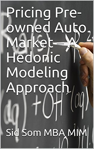 Pricing Pre-owned Auto Market – A Hedonic Modeling (Pre Owned Mercedes)