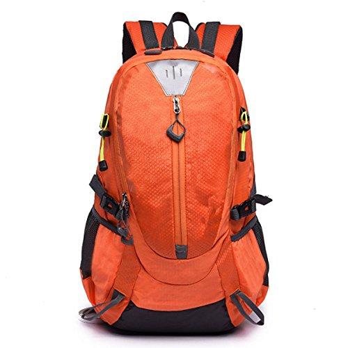 Alpinismo Al Aire Libre Mochila De Viaje 40L,Blue2 orange