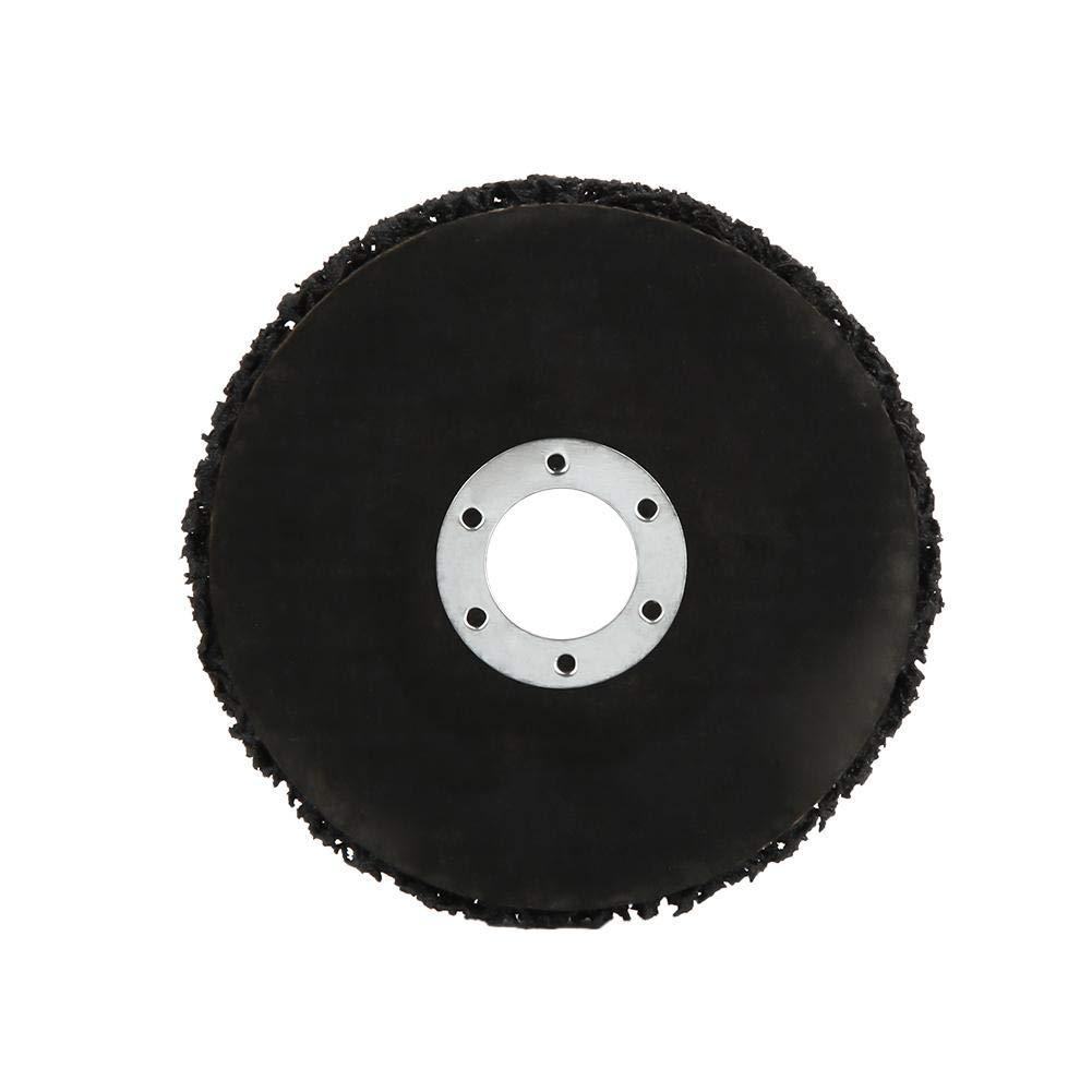 Pasamer 2Pcs 115mm Herramienta de eliminaci/ón de /óxido de Pintura de Disco de Rueda de Tira de Poli Negro para amoladoras de /ángeles